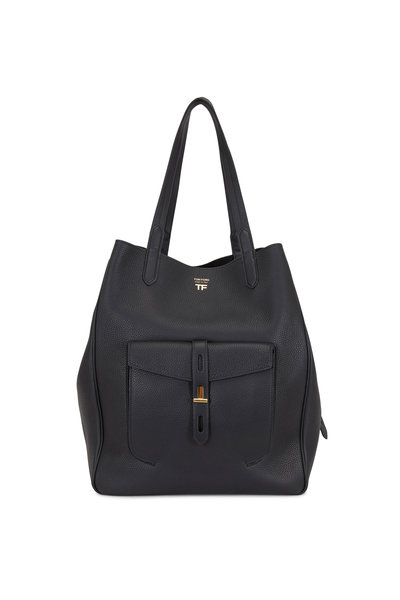 Tom Ford - Hollywood Twist Black Large Tote