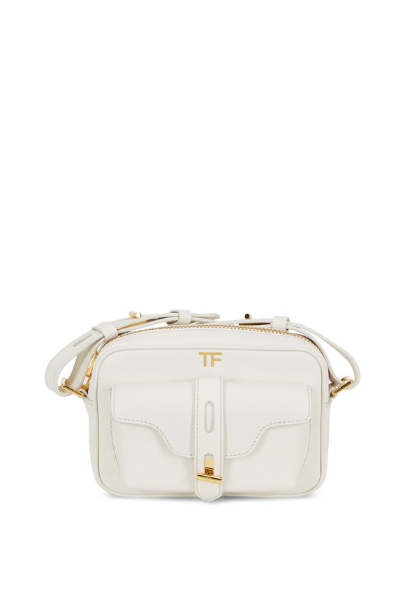 Tom Ford Chalk Leather Camera Bag