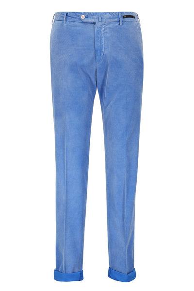PT Torino - Blue Stone Iridescent Corduroy Pant