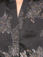 Vince - Coastal Blue Floral Silk Sleeveless Jumpsuit
