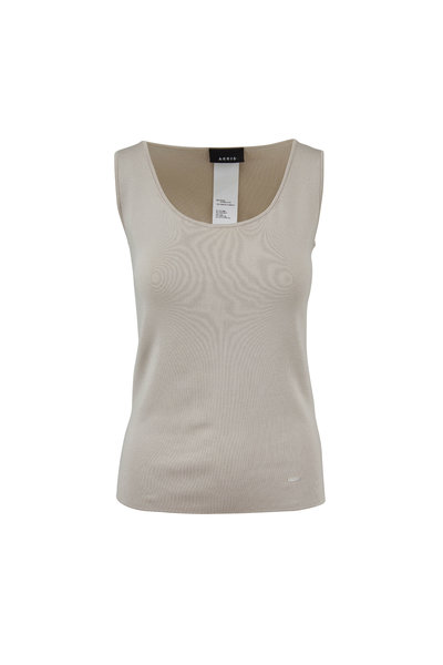 Akris - Canvas Stretch Silk Knit Tank Top