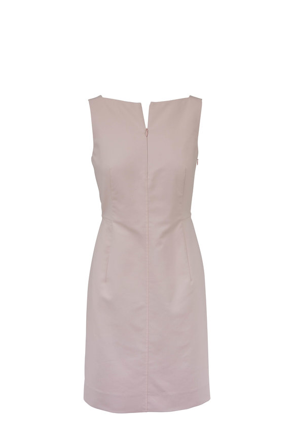Akris Blush Front Zip Dress