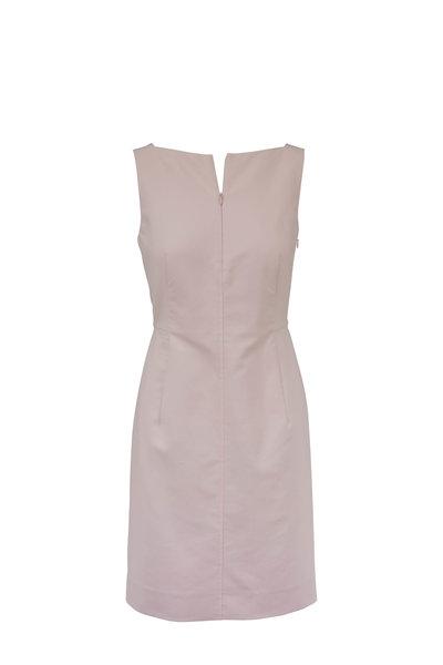 Akris - Blush Front Zip Dress
