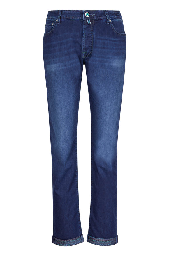 Jacob Cohen  Natural Indigo Dye Jean
