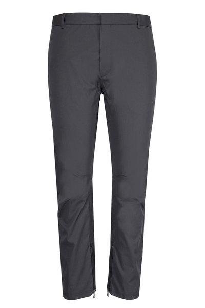 Lanvin - Dark Grey Biker Pant