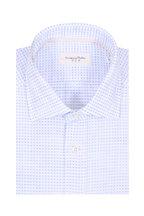 Tintoria - Light Blue Textured Contemporary Fit Sport Shirt