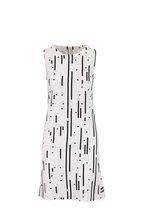 Akris Punto - Black & White Peplum Hem Sleeveless Dress
