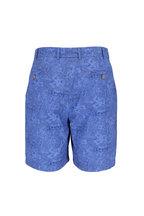 Peter Millar - Hualalai Blue Printed Shorts