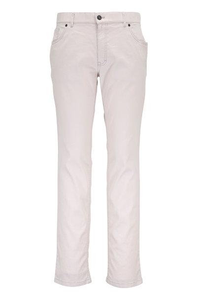 Hiltl - Beige Linen & Cotton Five Pocket Pant
