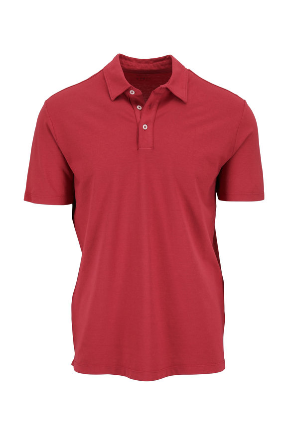 Altea Red Fresh Touch Cotton Polo