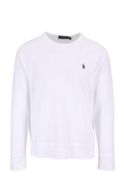Polo Ralph Lauren - White Crewneck Sweatshirt