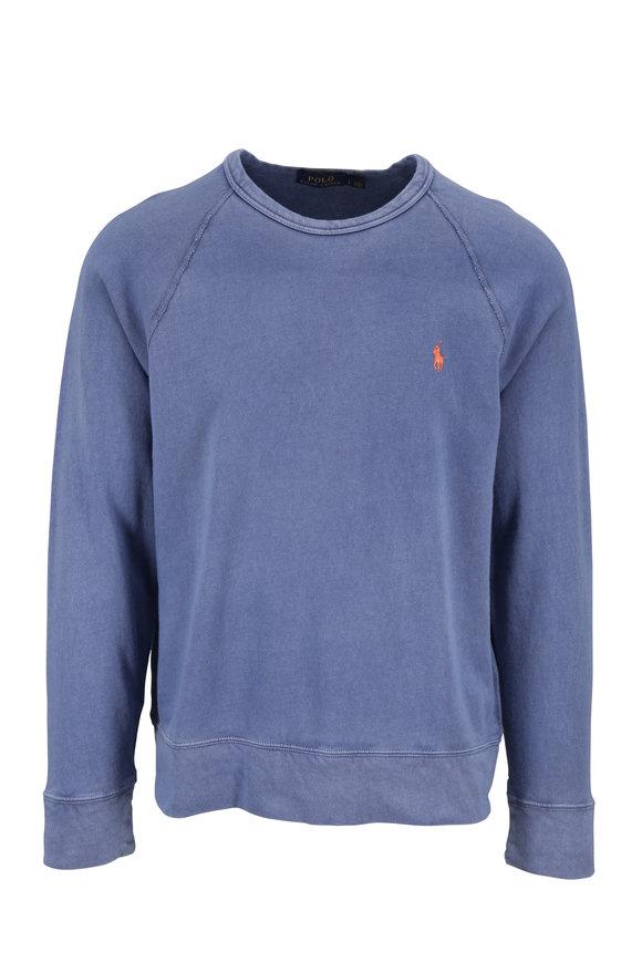 Polo Ralph Lauren Washed Navy Crewneck Sweatshirt