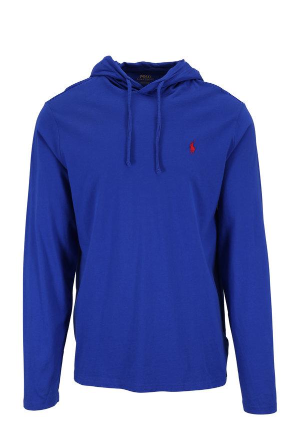 Polo Ralph Lauren Royal Blue Cotton Hoodie