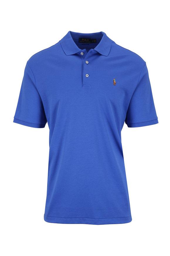 Polo Ralph Lauren Blue Cotton Classic Fit Polo