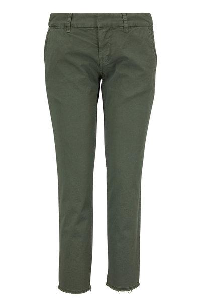 Nili Lotan - East Hampton Camo Green Pant