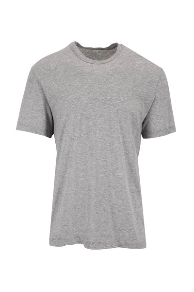James Perse - Heather Gray Jersey T-Shirt