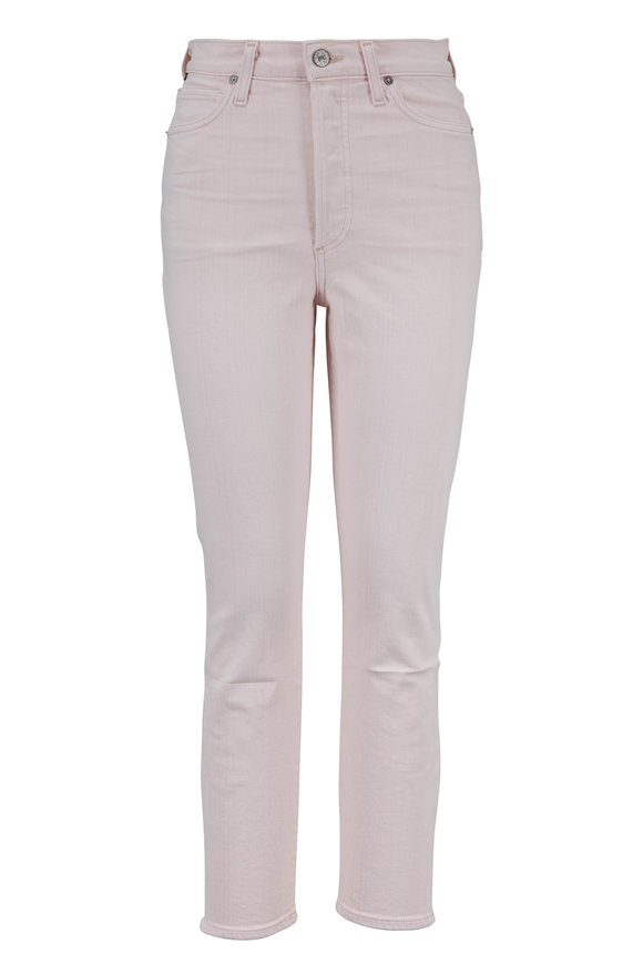 Citizens of Humanity Olivia Blush High-Rise Slim Crop Jean