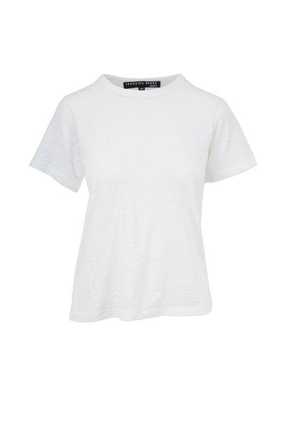 Veronica Beard - Lara White Crewneck T-Shirt