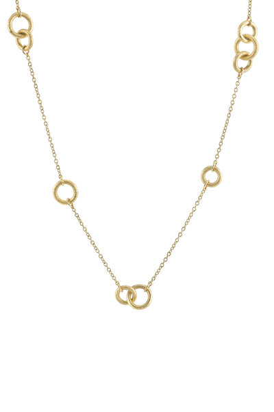 Aaron Henry - Yellow Gold Cable Chain Necklace