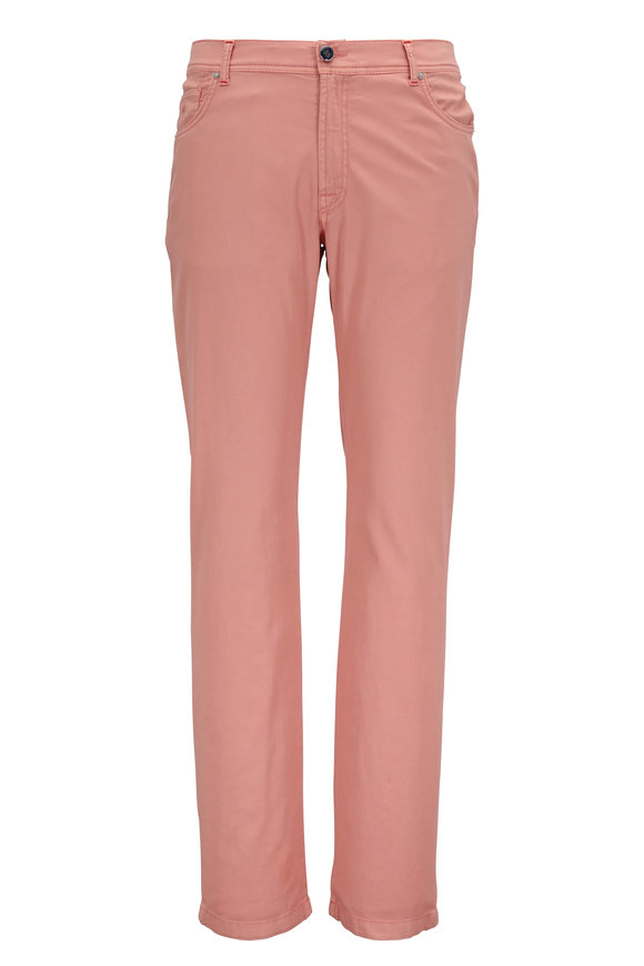 Marco Pescarolo Nerano M Coral Five Pocket Pant