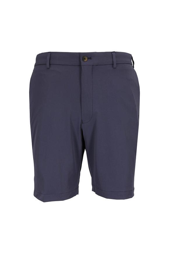Peter Millar Charcoal Gray Performance Twill Shorts