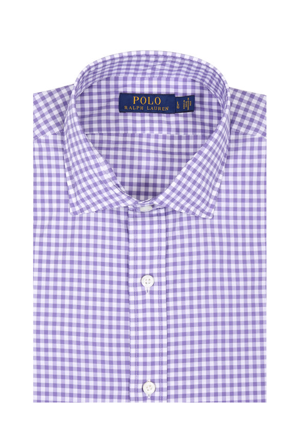 Polo Ralph Lauren Purple Gingham Sport Shirt
