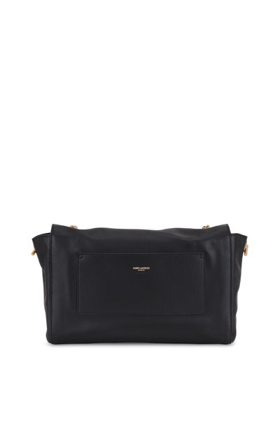 Saint Laurent - Kate Black Suede To Leather Reversible Chain Bag