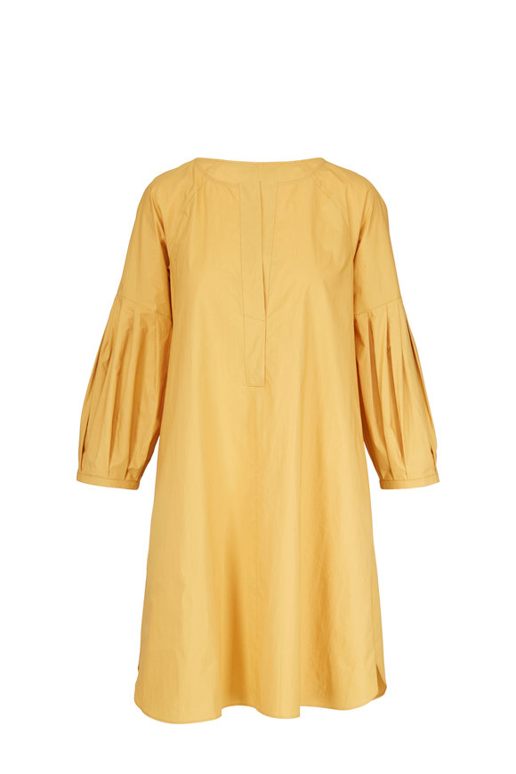 Dorothee Schumacher Papertouch Ease Honey Yellow Dress