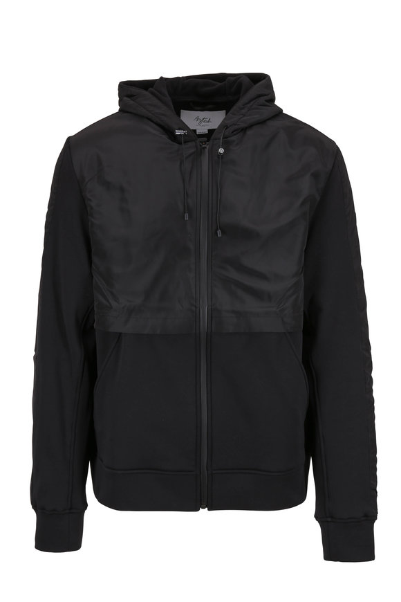 Aztech Mountain Wood Creek Space Black Fleece Jacket