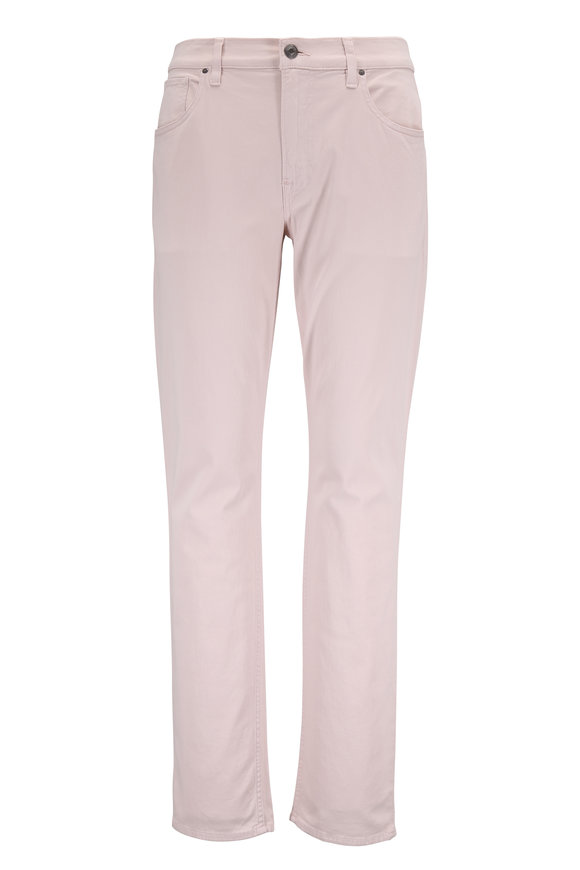 Hudson Clothing Blake Light Pink Slim Straight Jean