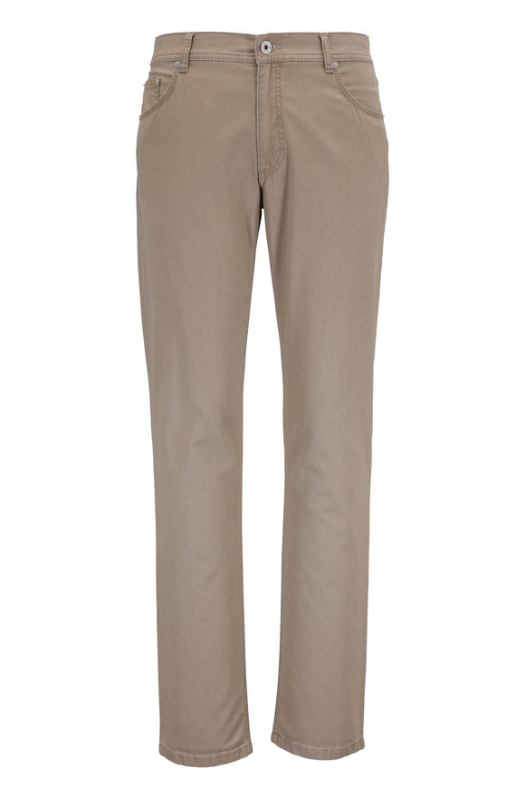 Brax Cooper Fancy Khaki Five Pocket Pant