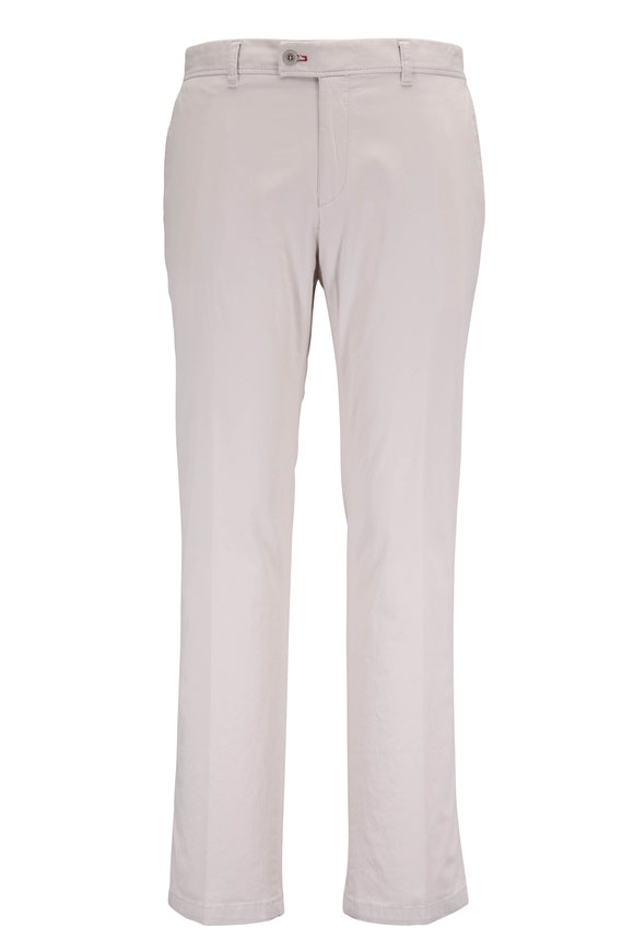 Brax Evans Sand Stretch Cotton pant
