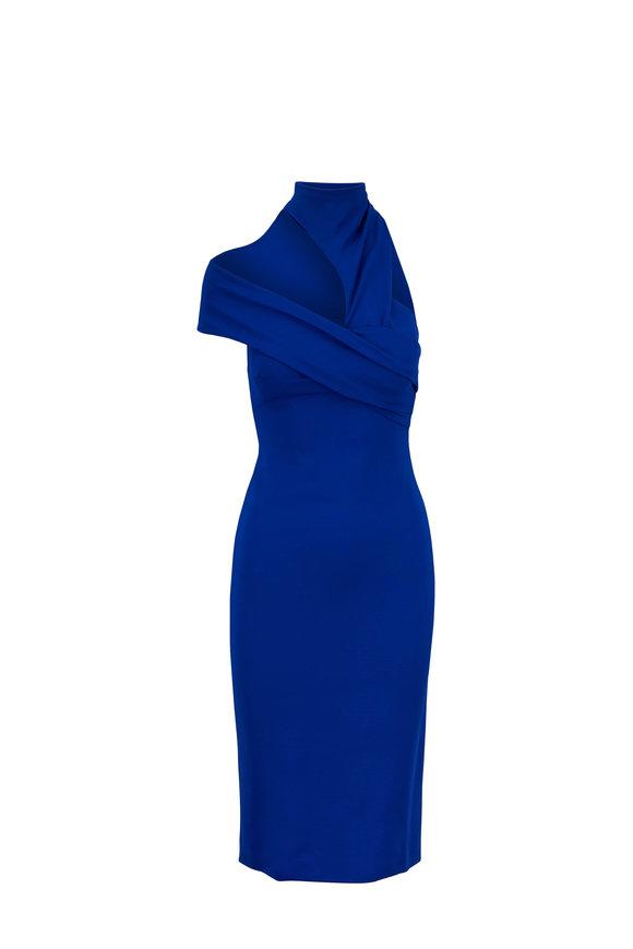 Cushnie Lais Lapis Sleeveless Pencil Dress