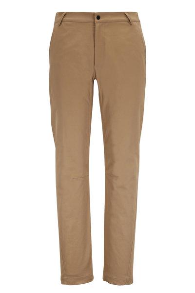 Aztech Mountain - Sunny Side Khaki Elastic-Inset Pant