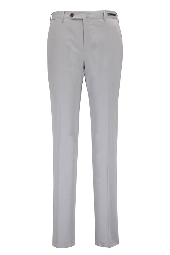 PT Pantaloni Torino Stone Stretch Cotton & Silk Slim Fit Pant