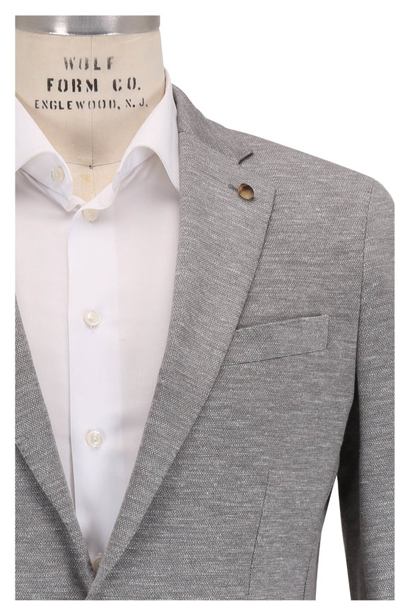Peter Millar La Jolla Argento Gray Jersey Soft Jacket