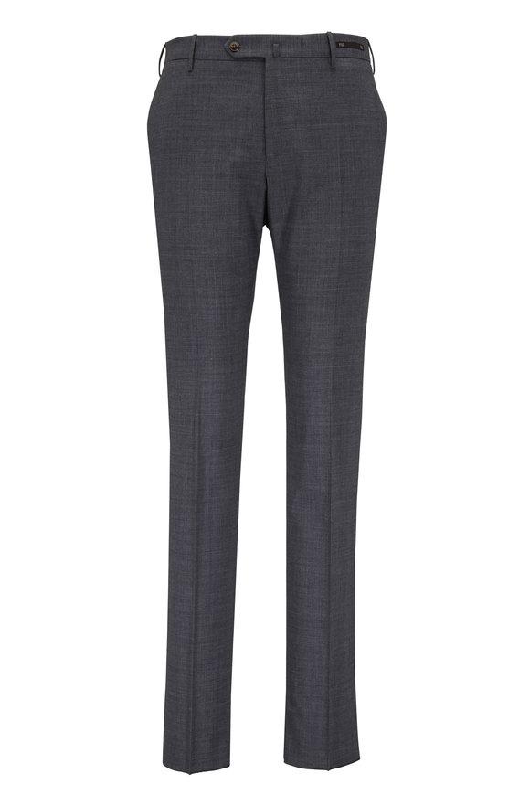 PT Pantaloni Torino Light Gray Melange Slim Fit Pant