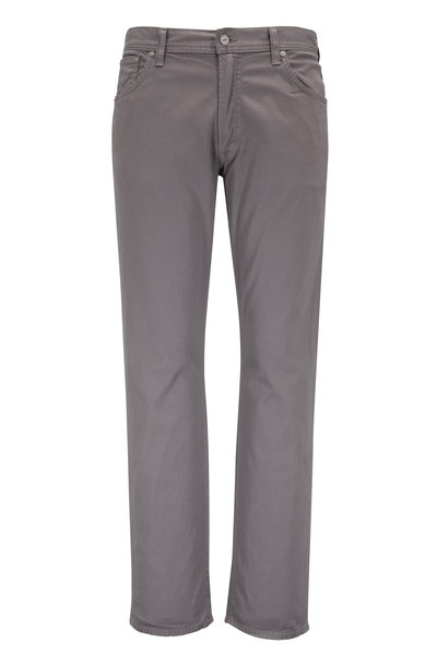 Citizens of Humanity - Bowery Gray Standard Slim Five Pocket Pant