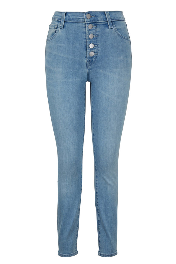 J Brand Lillie Verity High-Rise Crop Skinny Jean
