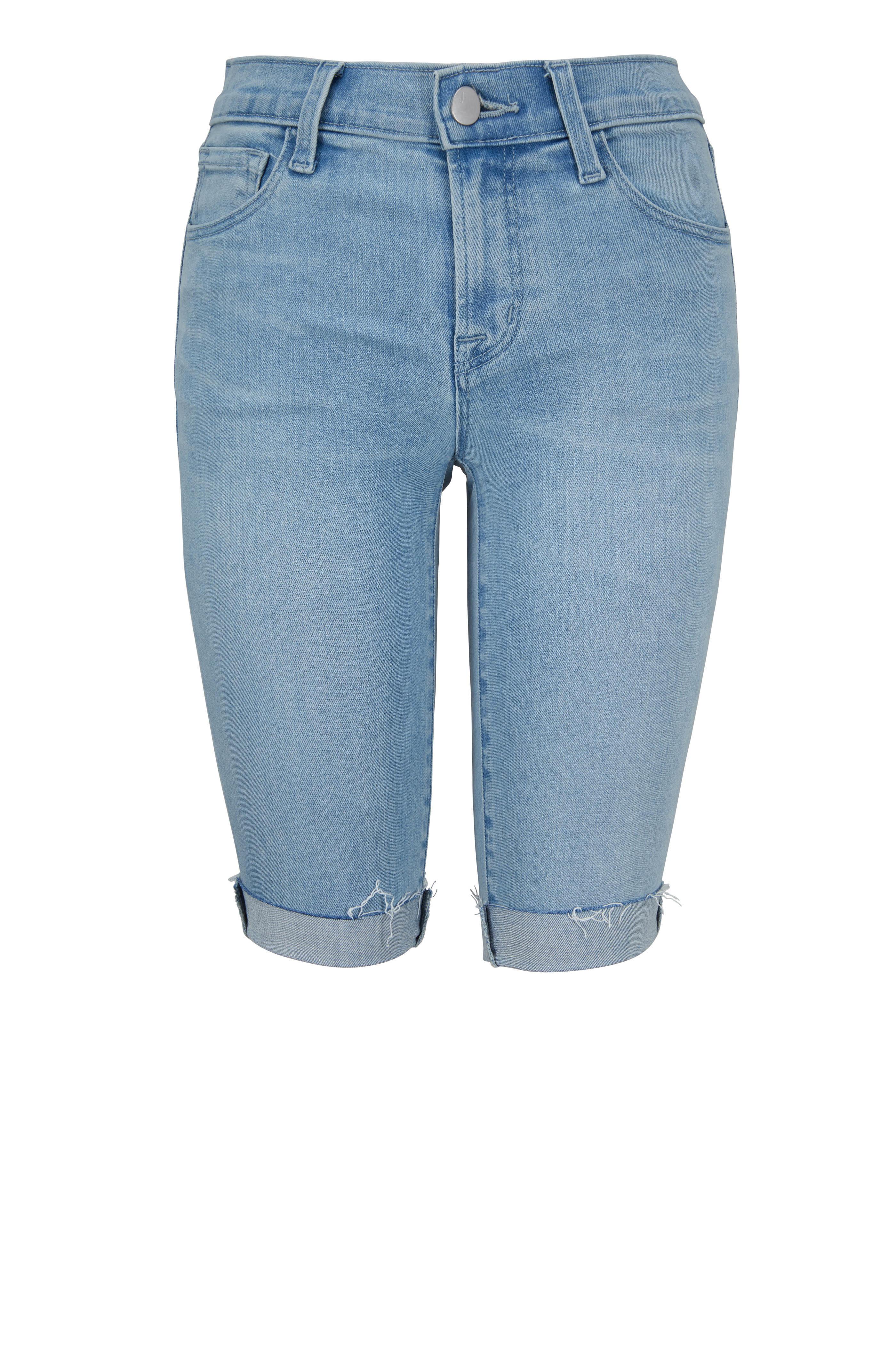 03d169064c J Brand - Verity Denim Bermuda Shorts | Mitchell Stores