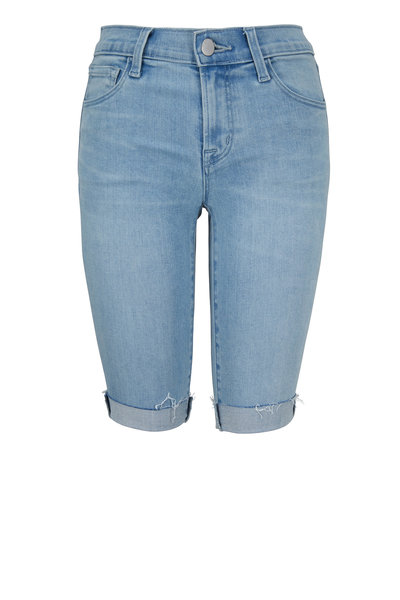 J Brand - Verity Denim Bermuda Shorts