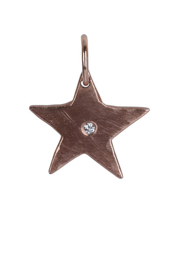 Julez Bryant 14K Rose Gold Aura Diamond Baby Star Pendant