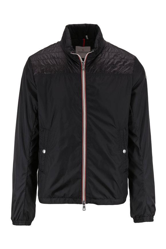 Moncler Portnuff Black Front Zip Jacket