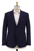 Z Zegna - Techmerino Wash & Go Navy Blue  Wool Suit