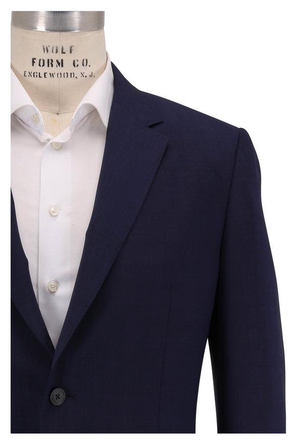 Z Zegna Techmerino Wash & Go Navy Blue  Wool Suit