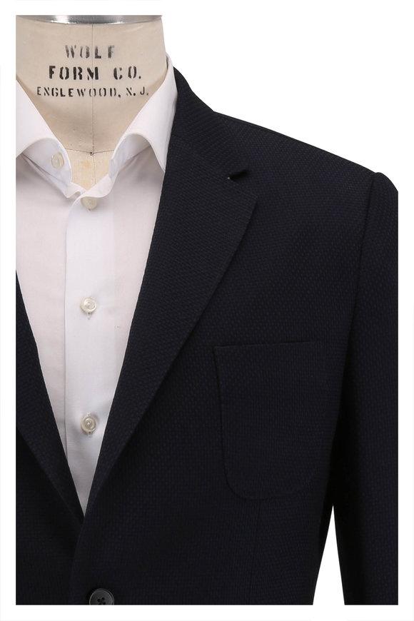 Z Zegna Techmerino Wash & Go Navy Blue Sportcoat