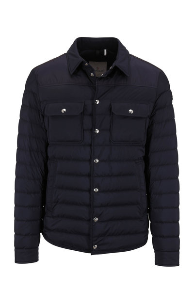 Moncler - Valton Navy Quilted Down Jacket