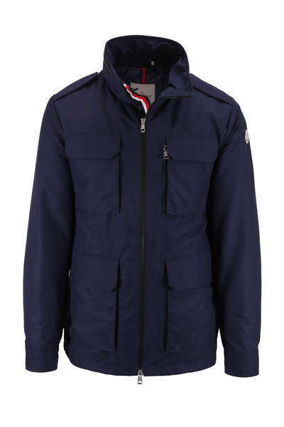 Moncler - Navy Blue Down Field Jacket