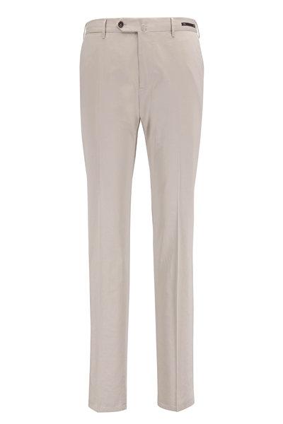 PT Pantaloni Torino - Sand Stretch Cotton & Silk Slim Fit Pant