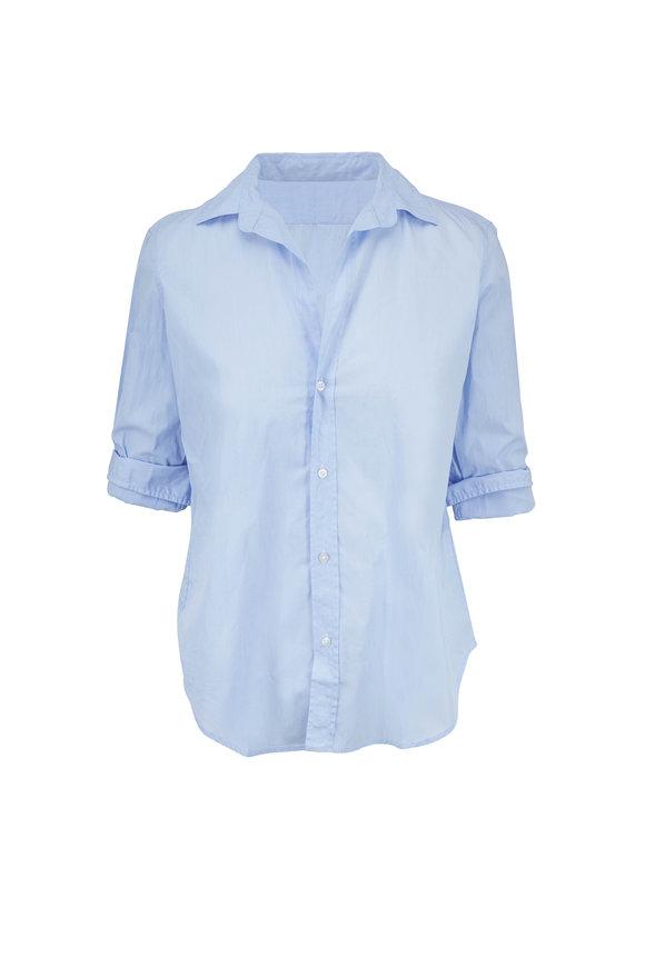 Frank & Eileen Frank Soft Blue Cotton Button Down Shirt